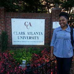 Photo taken at Clark Atlanta University by Brandi G. on 10/25/2013
