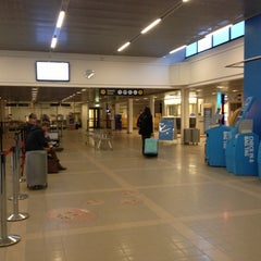Photo taken at Umeå Airport (UME) by Nat S. on 11/24/2012