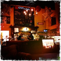 Photo taken at Claire de Lune Coffee Lounge by Brent A. on 1/5/2013