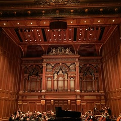 Photo taken at New England Conservatory's Jordan Hall by Brad K. on 5/4/2015