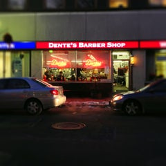 Photo taken at Dentes Barber Shop by Brad K. on 1/3/2013