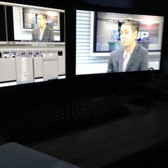 Photo taken at Capital TV by Zakir J. on 8/1/2014