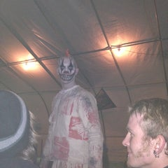 Photo taken at Statesville Haunted Prison by Maggie K. on 10/26/2013