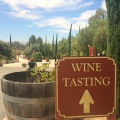 Photo taken at Mount Palomar Winery by Caiti D. on 8/1/2015