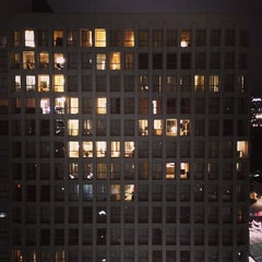 Photo taken at Bunker Hill Towers by Seung Min 'Mel' Y. on 11/23/2013