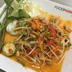 Photo taken at FoodPark @ Central Plaza Phitsanulok by Kittichai K. on 3/17/2016
