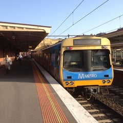 Photo taken at South Yarra Station by Howard M. on 9/2/2013