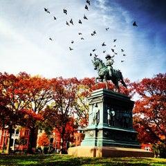 Photo taken at Logan Circle by Edward U. on 11/18/2012