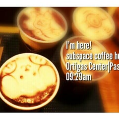 Photo taken at Subspace Coffeehouse by Zigg'r @. on 7/13/2013