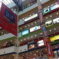 Photo taken at Funan DigitaLife Mall by Natalia M. on 12/1/2012