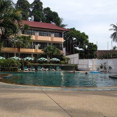 Photo taken at Patong Lodge Hotel by Andrew G. on 4/24/2014
