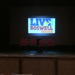 Photo taken at Roswell Cultural Arts Center (RCAC) by Eren B. on 6/7/2014