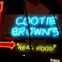 Photo taken at Cootie Brown's by 💖 Denise H. on 8/25/2013