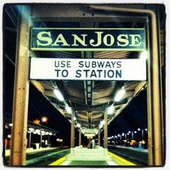 Photo taken at San Jose Diridon Caltrain & Amtrak Station by Timothy R. on 10/19/2012