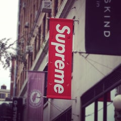 Photo taken at Supreme NY by Philippe D. on 10/7/2012