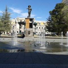 Photo taken at Plaza de Armas by Alejandro S. on 1/20/2014