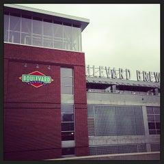 Photo taken at Boulevard Brewing Co by John K. on 3/22/2013