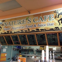 Photo taken at Nature's Health Food & Cafe by Junior A. on 5/19/2013