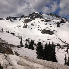 Photo taken at Whistler Blackcomb Mountains by Sarah on 6/16/2013