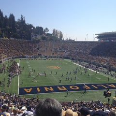 Photo taken at California Memorial Stadium by Jennifer H. on 9/29/2012