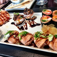 Photo taken at Nemo Sushi by Marcelo G. on 5/4/2013