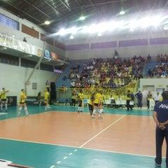 Photo taken at Ginásio Municipal Artenir Werner by Cris K. on 11/30/2012