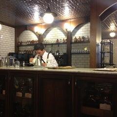 Photo taken at Devotion Cafe Hilton Bogota by Jake S. on 2/1/2013