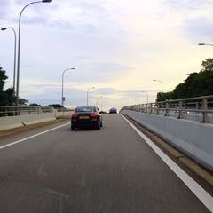 Photo taken at Marine Parade Flyover by Gerard T. on 4/29/2013