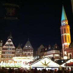 Photo taken at Frankfurter Weihnachtsmarkt by Darcy S. on 12/11/2012