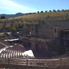 Photo taken at Mountain Winery by Laura J. on 10/27/2012