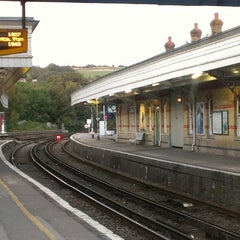 Photo taken at Lewes Railway Station (LWS) by Shane B. on 9/18/2012