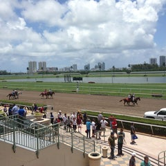 Photo taken at Gulfstream Park Racing and Casino by Daria A. on 6/25/2013