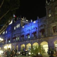 Photo taken at Los Portales de Puebla by Cuitlahuac A. on 2/21/2013