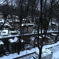 Photo taken at Cimetière de Montmartre by Romain on 1/22/2013