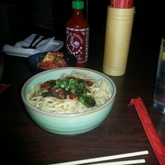 Photo taken at Chubby Noodle by Regina W. on 7/7/2013
