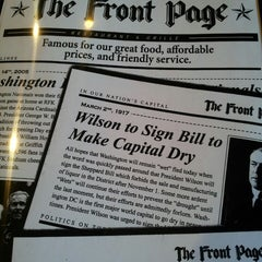 Photo taken at Front Page Arlington by ShannonRenee M. on 4/5/2013