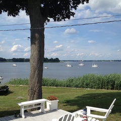 Photo taken at Conimicut Village by Patrick O. on 7/6/2013