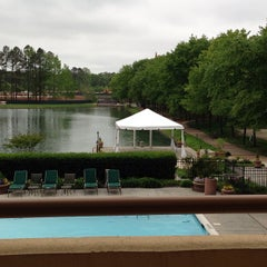 Photo taken at DoubleTree Suites by Hilton Hotel Raleigh-Durham by LisaDiane E. on 5/1/2013