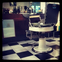 Photo taken at Grand Royal Barbers by Andrew H. on 3/28/2013