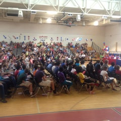 Photo taken at Peachtree Middle School by Heyward W. on 5/16/2013