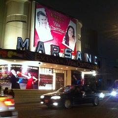 Photo taken at Teatro Marsano by Cesar F. on 11/3/2012