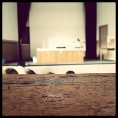 Photo taken at Faculté de Médécine by Sandra M. on 11/22/2012