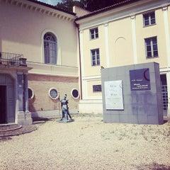 Photo taken at Museo Carlo Bilotti - Aranciera di Villa Borghese by Walter B. on 5/13/2013