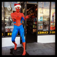 Photo taken at Golden Apple Comics by Zulma A. on 12/19/2015