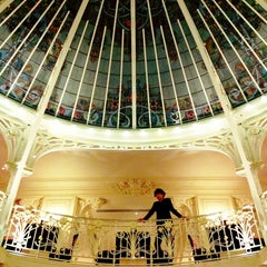 Photo taken at Hôtel Hermitage Monte-Carlo by Cho Sian T. on 1/25/2013