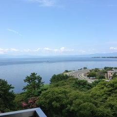 Photo taken at 長浜城 (長浜城歴史博物館) by タカ on 8/28/2013