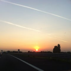 Photo taken at A4 - Venezia - Milano by Alessandro O. on 9/23/2013