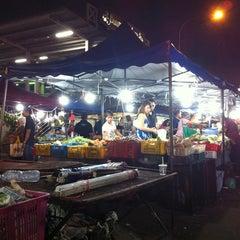 Photo taken at Pasar Malam Bangsar by karen c. on 11/18/2012