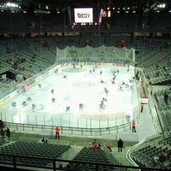 Photo taken at Arena Ice Fever 2012 by Kristijan V. on 1/18/2013