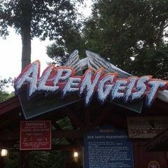 Photo taken at Alpengeist - Busch Gardens by Chuck S. on 6/10/2013